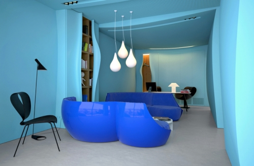Azure Office Ukraine by Makhno