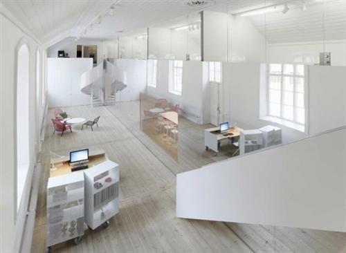 No Picnic Office Design by Elding Oscarson