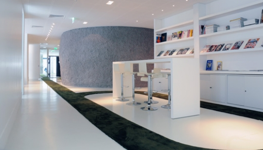 JWT Agency Office by Mathieu Lehanneur