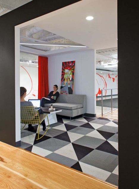 Dreamhost Hosting Cool Office Design Pictures by Studio O+A