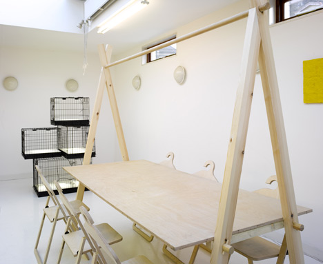 Dezeen Office in The Surgery by Post-Office