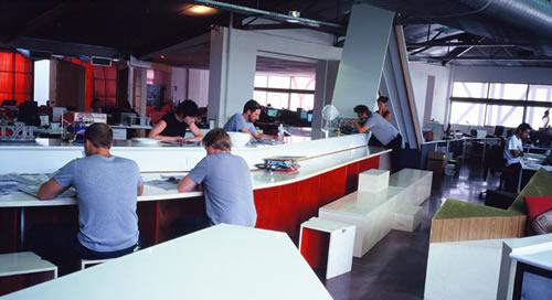 Sputnik Agency Office Design Pictures