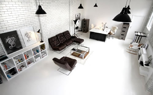 Candy black studio office design gallery the best for Photography studio office design