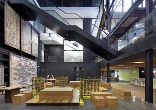Goods Shed North Studio Offices Design gallery