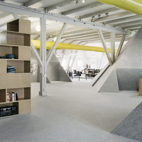 Cheap Monday Office Design by Uglycute