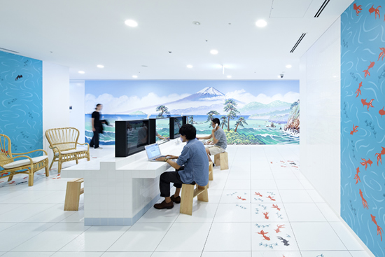 Google Tokyo Office Pictures
