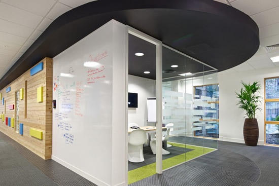 Jive Software UK Office Design Pictures