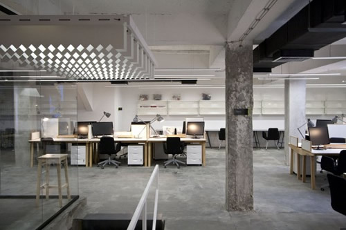 Nova Iskra Incubator Office Design