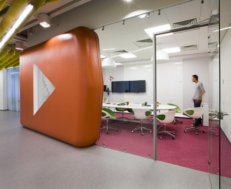 Yandex Office Design