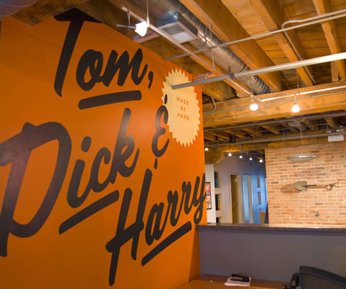 Tom Dick and Harry Creative Office