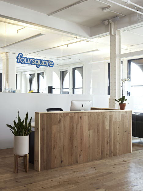Foursquare Office Design