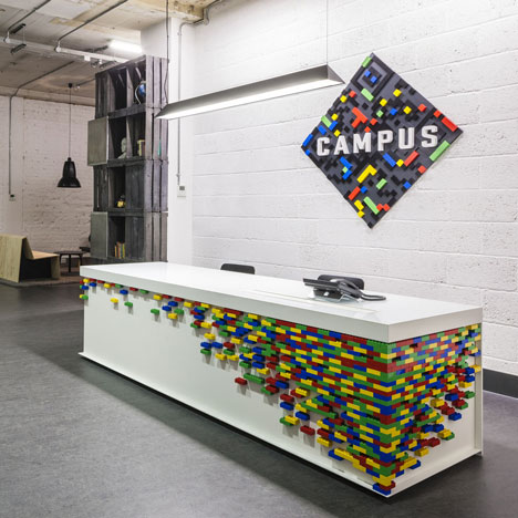 Google UK Campus Reception by Jump Studios