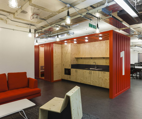 Google UK Campus Kitchen by Jump Studios