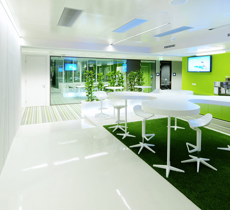 Microsoft Vienna Office Design
