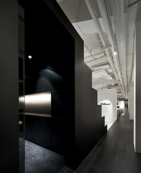 Bar Code Design office by Ministry of Design