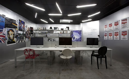 Rockstar atelier design agency office design gallery for Decoration interieur style atelier