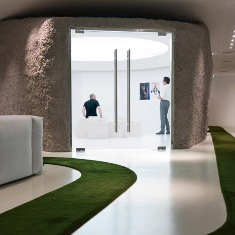 JWT Agency Paris by Mathieu Lehanneur