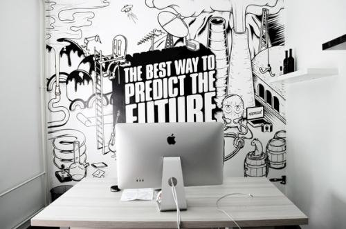 Appricot Office Design Wall Art