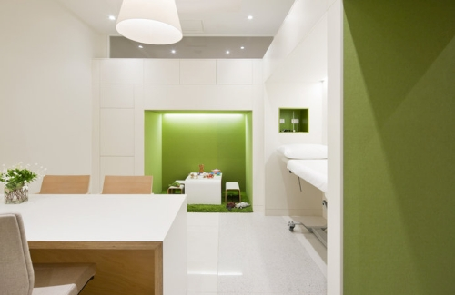 Flourish Paediatrics Office Pictures Design
