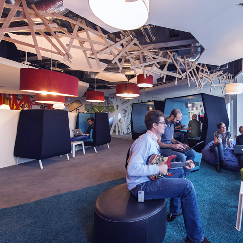 Google Office Pictures Ireland