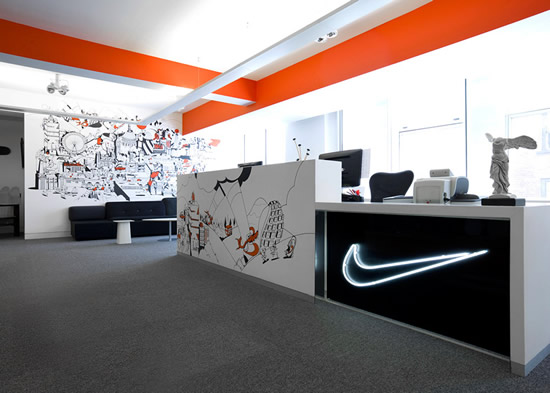 Nike London Office Pictures