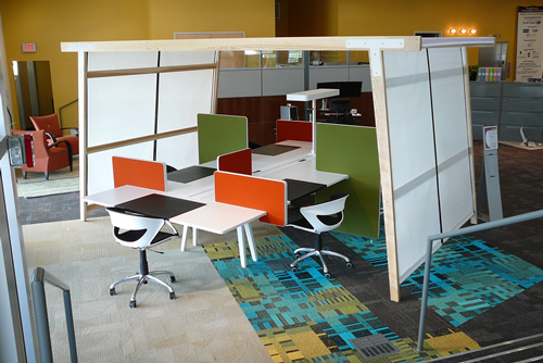 Creative office design gallery the best offices on the for Creative office furniture ideas