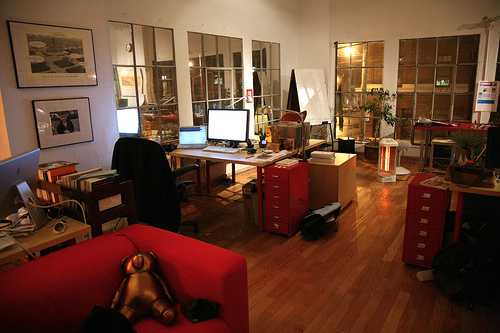 Laughing Squid Office