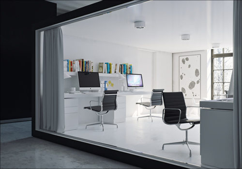 Obsidian Office Design